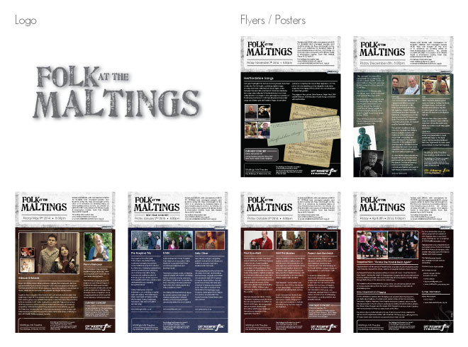 Folk at the Maltings portfolio